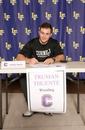 Truman Thuente signs letter of intent on 02/03/21