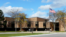 Administration Center at 300 S. Waukegan Road in Lake Forest